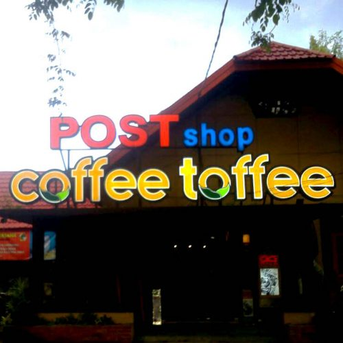 Coffee Toffee Frame Huruf - Budineon